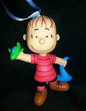 The Peanuts Gang Linus Christmas Ornament-collection blue blanket