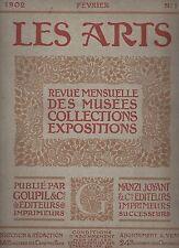 -LES ARTS- 1902/1903 GOUPIL & CIE 21 REVUES ANCIENNES DE COLLECTION DONT N°1