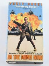 Pauly Shore In The Army Now VHS 90s Comedy Andy Dick Lori Petty