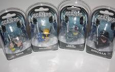 Lot of 4 NECA Scalers Figures. Godzilla, Thor, Wolverine & Gypsy Danger - NEW