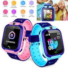 Kids Smart Watch Anti-lost GPS Fitness Tracker SOS Call Camera For IOS Android p