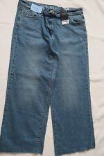 Next Women`s Jeans Cropped Ankle Wide Leg Size 12L,14R,14L,16L