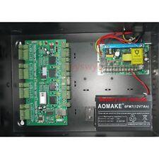 4 Door TCP/IP RFID IC Door Attendance Access Control AC110V-240V Battery Backup