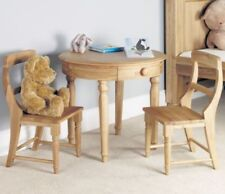 Oval Modern 3 Piece Table & Chair Sets