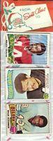 1975 Topps Football Holiday Christmas Rack Pack HOF Rookie RC Lynn Swann Poss?A9