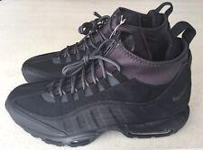 Nike Air Max 95 Sneakerboot/ Anthracite 806809-001 Black Men's US 9.5