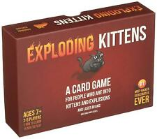 Exploding Kittens A Card Game About And Explosions Sometimes Goats