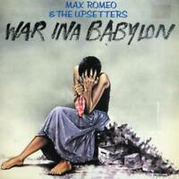 MAX ROMEO/MAX ROMEO & THE UPSETTERS - WAR INA BABYLON NEW CD