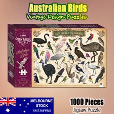 Australian Birds Vintage 1000pce Jigsaw Puzzle Complete