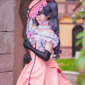 Black Butler Cosplay Damen Ciel Frauen Abendkleid karneval Manga Kostüme