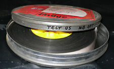 FILM  16 MM  BOBINE TEST POUR PROJECTEUR TEST US  N/B OPT