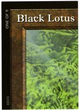 MTG 1 X PIECE ONE OF 9 FOR BLACK LOTUS QUEST PUZZLE OVERSIZED