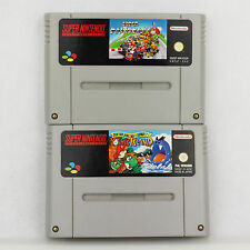 Snes - Super Mario Kart + Super Mario World 2 Yoshi's Island Für Super Nintendo