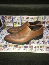 Men's Ecco Windsor Dress Loafers Shoes Brown Leather EU 41 US 8 Retail 249