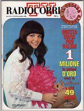 rivista TV RADIO CORRIERE ANNO 1968 NUMERO 46 DANIELA GHIBLI