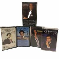 Lot of 5 Placido Domingo Classical Music Cassette Tapes
