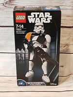 LEGO 75531 Star Wars Stormtrooper Commander Buildable Figure NEW and SEALED