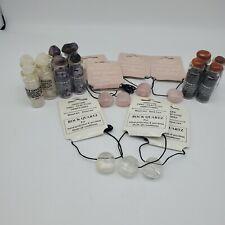Large Lot of Natural Semi Precious for Jewelry Making Quartz Amethyst Garnet