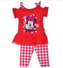 Minnie Mouse Top & Legging Set- Size 5T NWT Disney