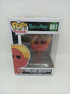 Funko Pop Vinyl Rick and Morty 661 Kirkland Meeseeks figure