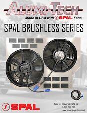 06-10 Chevrolet GMC 2500 Duramax SPAL Brushless Electric Fans W/ Radiator Shroud