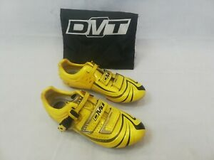 DMT MAG FORCE YELLOW ROAD CYCLING SHOES UK9 EU43