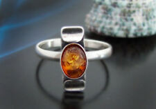 Bernstein Silber 925 Ring 17 mm  R84