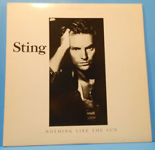 STING ...NOTHING LIKE THE SUN 2X LP 1987 ORIGINAL INSERT GREAT COND! NM/VG++!!