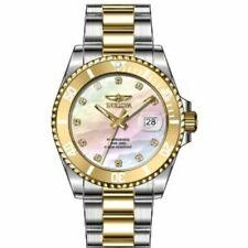 Invicta Women's 30943 Angel Quartz 3 Hand White Dial Watch