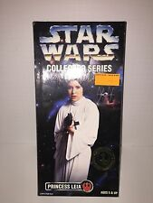 "STAR WARS COLLECTOR SERIES PRINCESS LEIA 12"" DOLL 1996 HASBRO KENNER! NEW"