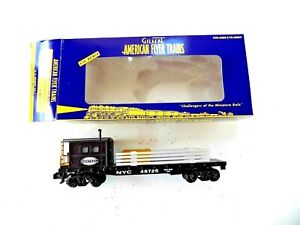 American Flyer No. 6-48726 New York Central Boom Car S Gauge store closeout