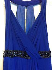 Marc Bouwer Glamit Royal Blue Wedding Engagement Formal Dress Racerback size 2