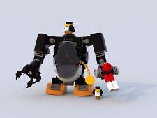 Custom Lego Batman Movie Penguin Mech - Instructions Only