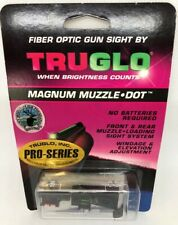 New! Truglo Pro-Series Magnum Muzzle Dot Sight Fiber-optic Muzzleloading Sight