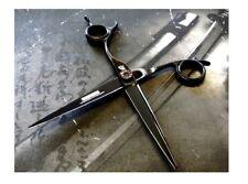 "NEW Kamisori K-20 Dragon Collection Black Diamond Crane Handle 5.5"" Salon Shears"