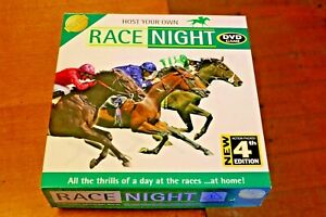Host Your Own RACENIGHT 4th Edition DVD Game Party Horse Racing Gambling Betting