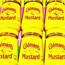 Colmans English Mustard 6 x 170g ( 1020g ) Hot Original Senf Norwich England