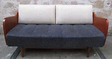 PETER HVIDT STYLE DANISH MODERN TEAK DAYBED mid century sofa loveseat art deco