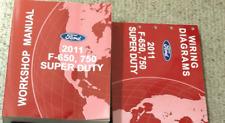 2011 Ford F-650 F650 F750 TRUCK Service Shop Workshop Repair Manual Set W EWD