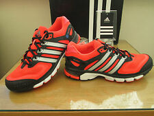 Adidas rsp Coussin Course Running Trail Orange Baskets Neuf Taille 7.5 EU 41.3