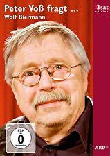 DVD      Peter Voß fragt Wolf Biermann    3sat edition      NEU + VERSCHWEISST