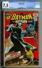 BATMAN #237 CGC 7.5 CR/OW PAGES // NEAL ADAMS COVER ART 1971