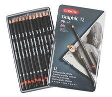 Derwent Gráfico Suave Lápices Grafito, 9B-H - Conjunto de 12 entrega UK LIBRE