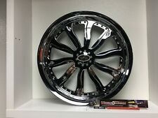 "09 up Harley Davidson 17"" Rear Wheel Custom Chrome Wheel Style 122c"