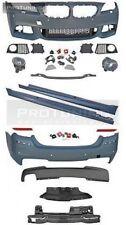 NEW M Sport style bodykit bumpers set sideskirts m-tech m package foglights fogs