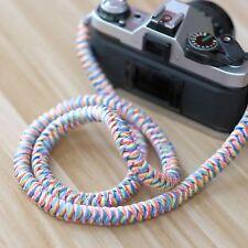 Handmade Paracord Rope Cord Camera Neck Strap 100cm 1m Long Fuji sony canon