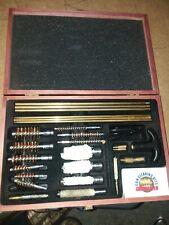 DAC Gunmaster UGC 76W Gun Cleaning Deluxe Universal Kit Wooden Case Barely Used