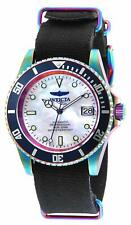 Invicta Mens Pro Diver Stainless Steel Automatic-self-Wind Watch W/ Nylon Strap,