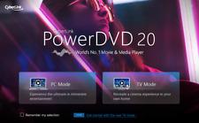 NEW ✔️2020 ✔️ CyberLink PowerDVD Ultra 20 NOT 19 ✔️ License ✔️ Digital Download