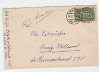 weimar republic 1923  stamps cover ref 12936